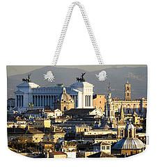 Rome's Rooftops Weekender Tote Bag