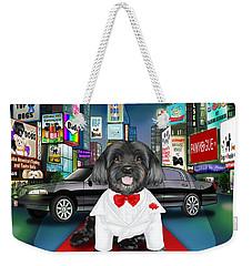 Sir Cuba Of Chelsea In Times Square Nyc Weekender Tote Bag