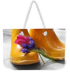 Spring Boots Weekender Tote Bag