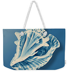 X-ray Of A Conch Shell Weekender Tote Bag
