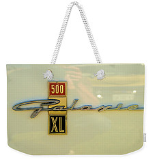 1963 Ford Galaxie Weekender Tote Bag