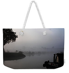 A Nice Place Weekender Tote Bag by Linsey Williams