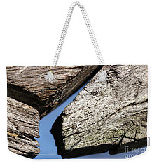 Weekender Tote Bag featuring the photograph Abstract With Angles by Todd Blanchard