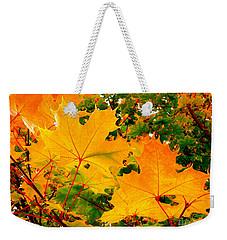 Autumn In British Columbia Weekender Tote Bag