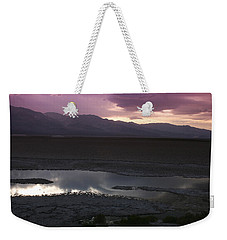 Badwater Basin Death Valley National Park Weekender Tote Bag