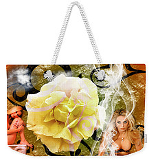 Weekender Tote Bag featuring the photograph Beauty by Clayton Bruster