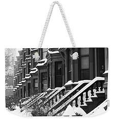 Carroll Street Weekender Tote Bag
