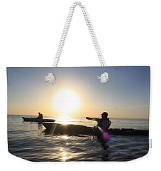 Coasting On Waters Light Weekender Tote Bag