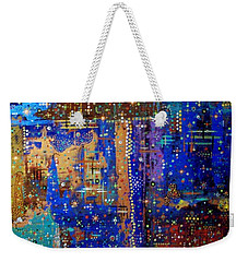 Design For Meditation Weekender Tote Bag