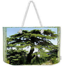 Do-00512 Cedar Forest Weekender Tote Bag