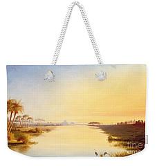 Egyptian Oasis Weekender Tote Bag by John Williams
