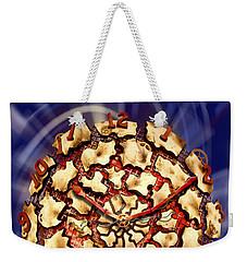 Exploding Clock Weekender Tote Bag