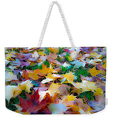 Fall Leaves Weekender Tote Bag by Steve McKinzie