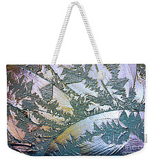 Weekender Tote Bag featuring the photograph Glass Designs by Todd Blanchard