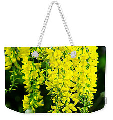 Golden Chain Tree Weekender Tote Bag