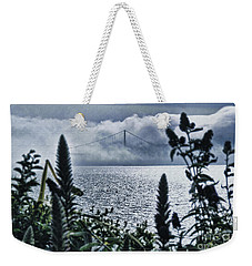 Weekender Tote Bag featuring the photograph Golden Gate Bridge - 1 by Mark Madere