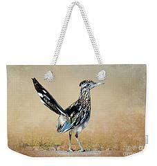 Greater Roadrunner Weekender Tote Bag by Betty LaRue