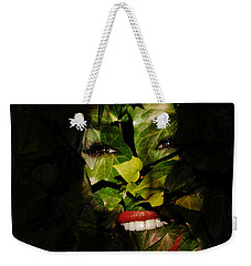Weekender Tote Bag featuring the photograph Ivy Glamour by Clayton Bruster