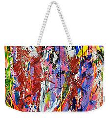 Jazz Weekender Tote Bag by Elf Evans
