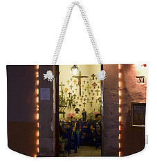 Weekender Tote Bag featuring the photograph Las Cruces by Lynn Palmer