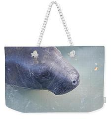 Manatee Weekender Tote Bag