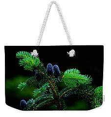 Weekender Tote Bag featuring the photograph Mountain Life by Sharon Elliott