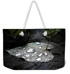 Weekender Tote Bag featuring the photograph My Heart Weeps by Peggy Franz