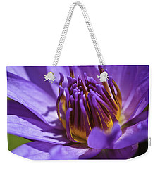 Nymphaea 'panama Pacific' Weekender Tote Bag