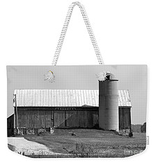 Old Barn And Silo Weekender Tote Bag