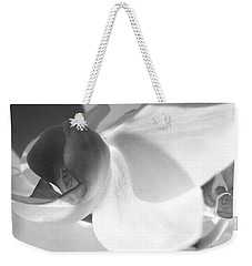Weekender Tote Bag featuring the photograph Orchid by Kume Bryant