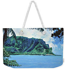 Pacific Island Weekender Tote Bag by Stan Hamilton