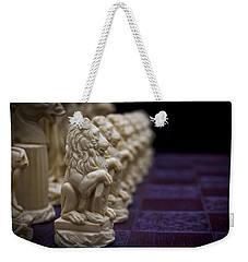 Pawns In A Row Weekender Tote Bag by Doug Long