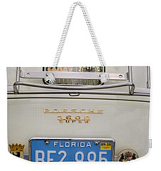 Porsche 1600 Super 1959 Rear View. Miami Weekender Tote Bag