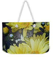 Pretty In Yellow Weekender Tote Bag