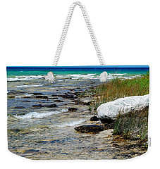 Quiet Waves Along The Shore Weekender Tote Bag