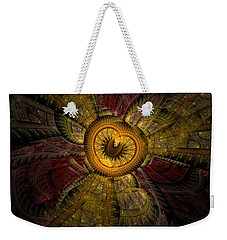 Red Sky At Night Weekender Tote Bag by NirvanaBlues