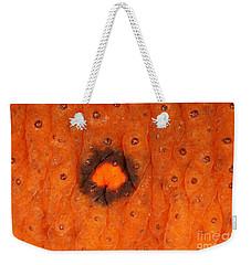 Skin Of Eastern Newt Weekender Tote Bag by Ted Kinsman