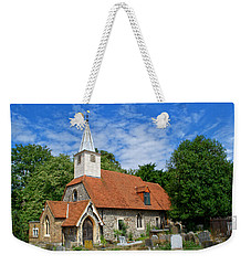 St Laurence Church Cowley Middlesex Weekender Tote Bag