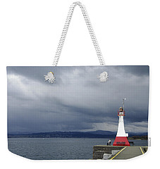 Weekender Tote Bag featuring the photograph Stormwatch by Marilyn Wilson