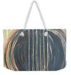 Strings Acoustic Sound Weekender Tote Bag