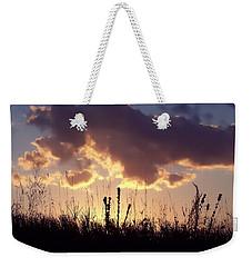 Weekender Tote Bag featuring the photograph Summer Sunset by Lauren Radke