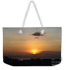 Sunset Upon The Ocean  Weekender Tote Bag