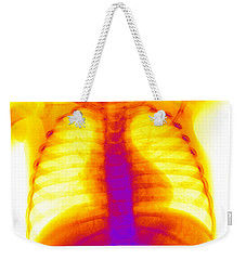 Swallowed Nail Weekender Tote Bag by Ted Kinsman