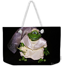 Weekender Tote Bag featuring the photograph The Green Bride by Sherman Perry