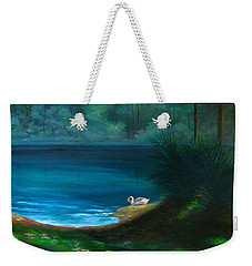 The Swan Weekender Tote Bag