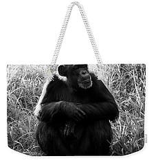 Thinking Weekender Tote Bag by David Lee Thompson