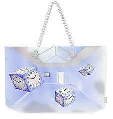 Time Cubed Weekender Tote Bag by Mike McGlothlen