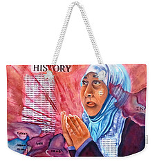 Victims Of War Weekender Tote Bag
