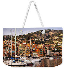 Weekender Tote Bag featuring the photograph Villefranche-sur-mer  by Steven Sparks