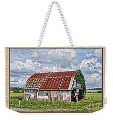 Weekender Tote Bag featuring the photograph Vote For Me I by Debbie Portwood